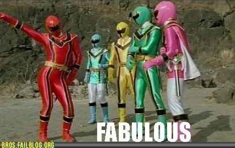 fab fabulous power rangers television TV - 6422933760