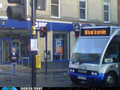 bus,meanwhile in,Meanwhile In Scotland,scotland,scots,scottish