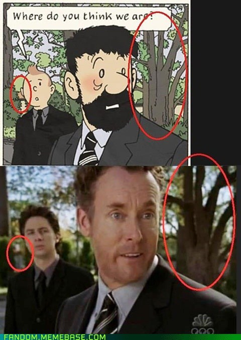as seen on tv crossover scrubs Tintin TV - 6423186688