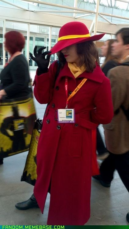 carmen sandiego,convention,cosplay,SDCC