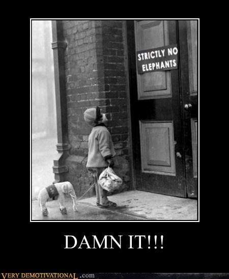 elephants kid Prohibited Sad - 6423339008
