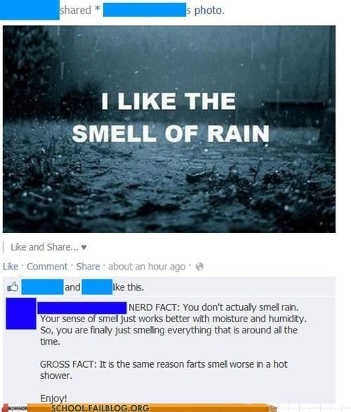 farts humidity moisture nerd fact the smell of rain