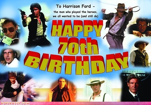 actor birthday celeb happy birthday Harrison Ford - 6423396096