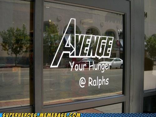 advertisement avengers hunger ralphs Random Heroics - 6423853568