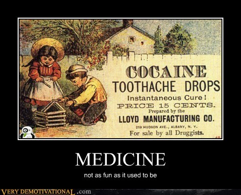 drug stuff hilarious kids medicine old timey