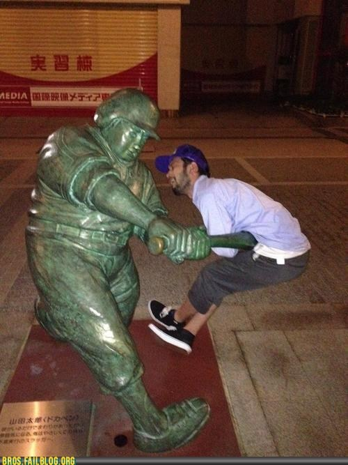 baseball,Japan,sports,statue