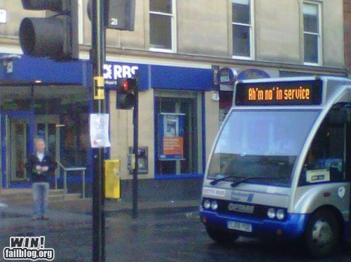 accent best of week bus g rated Hall of Fame out of service scotland win - 6424160512