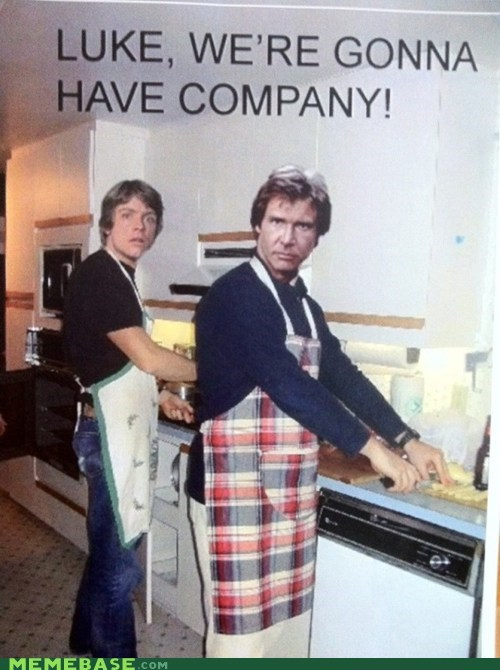 company,Han Solo,host,Luke,Memes,star wars,the force