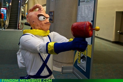 cosplay earthworm jim SDCC video games - 6424675328