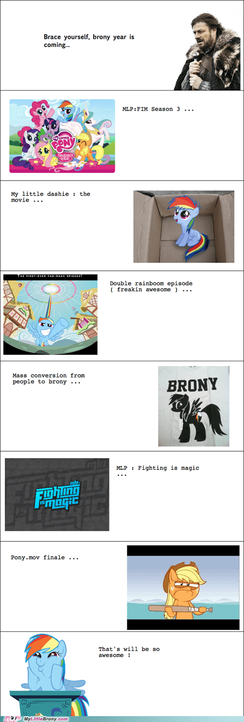 brace yourselves brony the internets this year yay - 6424741120