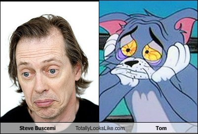 actor,celeb,funny,steve buscemi,TLL,Tom and Jerry