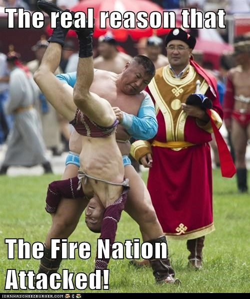 The real reason that The Fire Nation Attacked!
