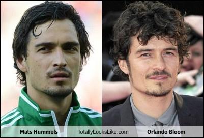 actor celeb funny mats hummels orlando bloom soccer TLL - 6425316608