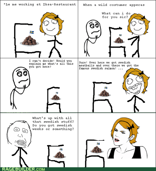 derp,ikea,Rage Comics,swedish