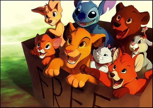 cute disney Fan Art free - 6425705472