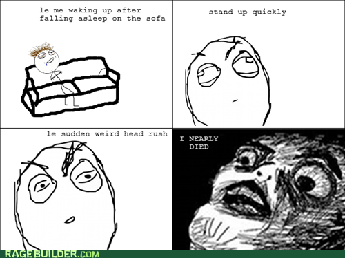head rush,Rage Comics,raisin face,sleep