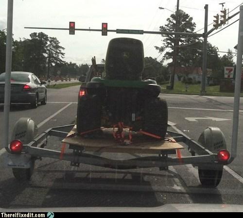 boat John Deere mower tractor trailers - 6425874688