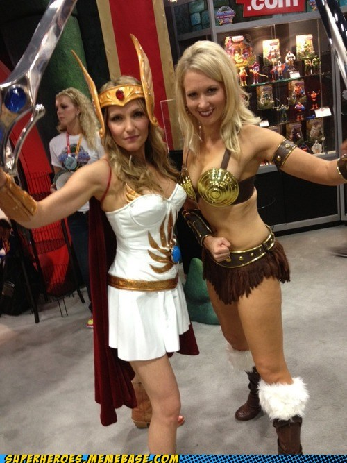 he man sdcc 2012 she-ra Super Costume teela - 6426018816