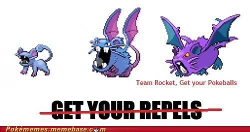 pokefusion raticate rattata Team Rocket the internets zubat - 6426021888