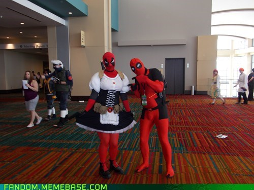 cosplay deadpool marvel superheroes - 6426309376