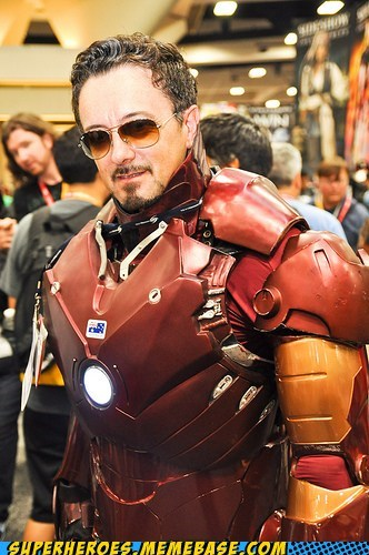 iron man marvel sdcc 2012 Super Costume tony stark