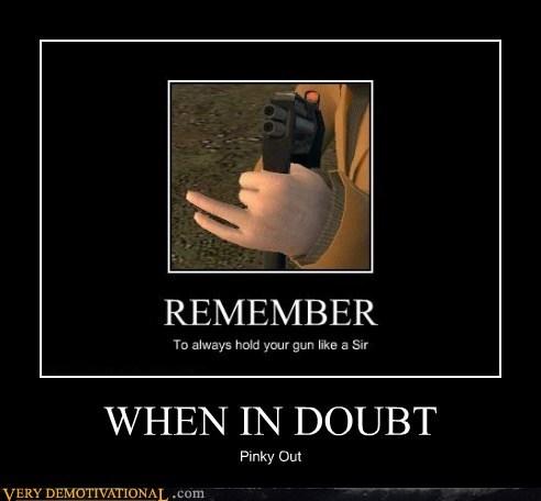 doubt gun hilarious out pinky - 6426366976