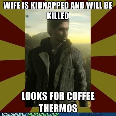 alan wake coffee thermos meme - 6426670336