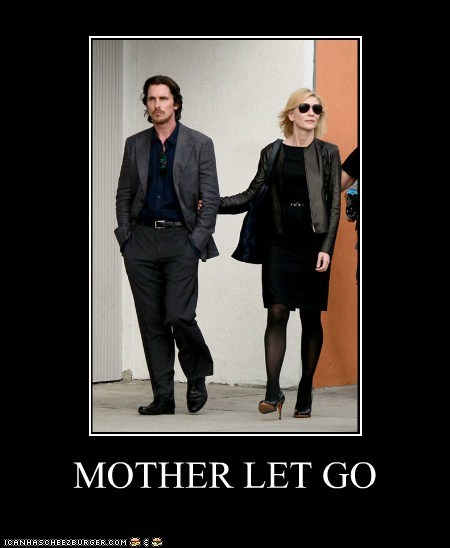 actor cate blanchett celeb christian bale demotivational funny - 6426935808