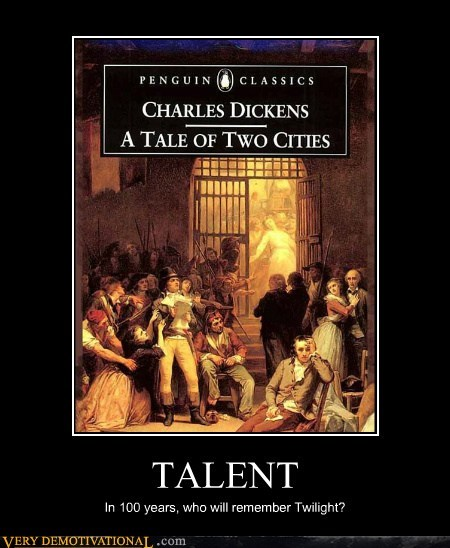 charles dickens Pure Awesome tale of two cities twilight - 6427073792