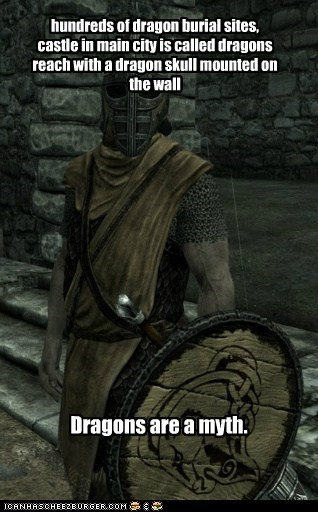 Burial,dragons,guard,myth,Skyrim,smarts,the elder scrolls,whiterun