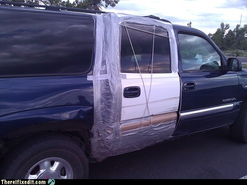car car door car fail car fix gmc gmc yukon oreo oreomobile suv truck - 6427986944