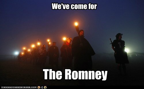horde,Mitt Romney,political pictures,rabble,Republicans