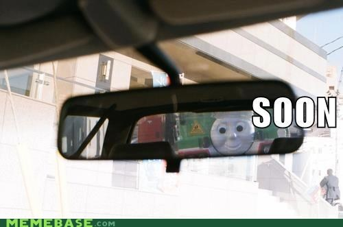 car,friendly,kids,mirror,SOON,tank engine,thomas