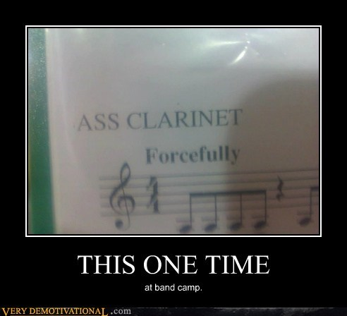 booty clarinet forcefully hilarious