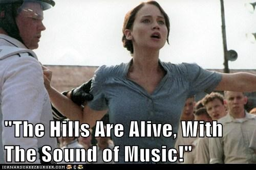 capitol,hunger games,jennifer lawrence,katniss everdeen,musical,panem,song,the sound of music