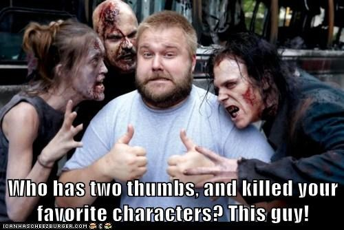 characters,favorite,robert kirkman,The Walking Dead,this guy,who has,zombie