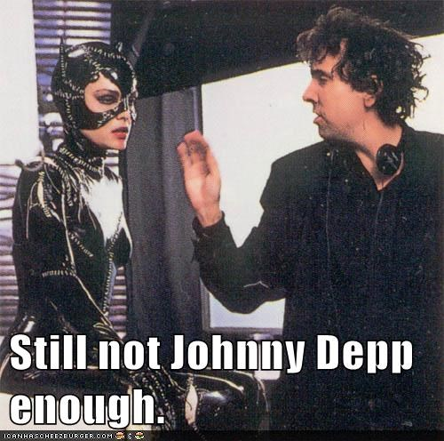batman batman returns directing Johnny Depp michelle pfeiffer not enough selena kyle tim burton - 6428495104
