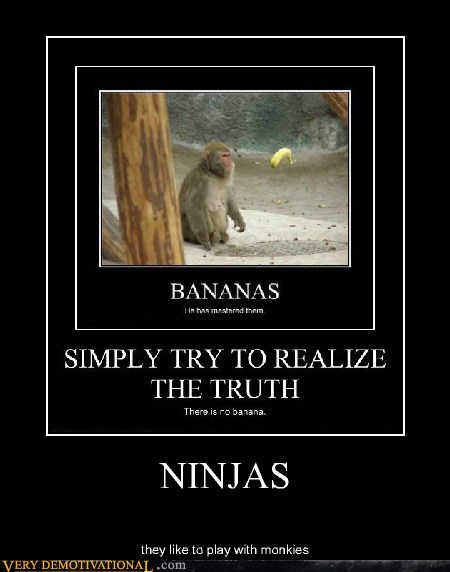 ape banana hilarious monkey ninja - 6428603904