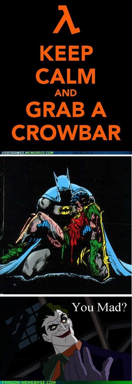 crowbar half life jason todd joker Super-Lols - 6429261312