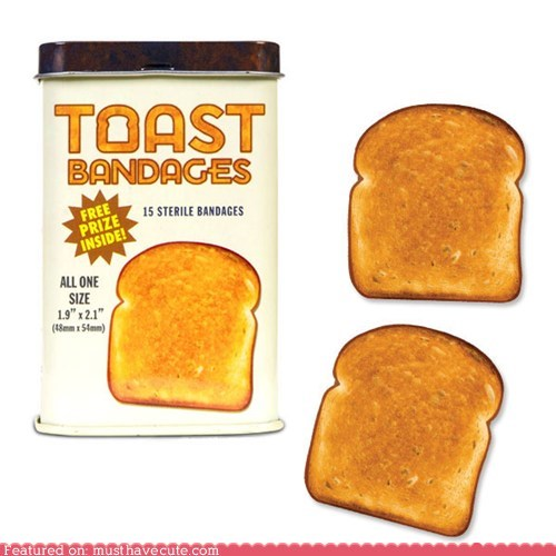 band aids bandages toast - 6429289984
