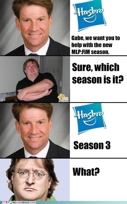 gabe newell,Hasbro,meme,season 3,video games
