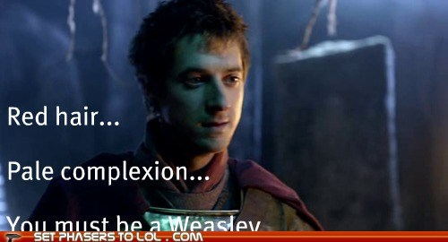 arthur darvill doctor who draco malfoy Harry Potter quote rory williams - 6429922304