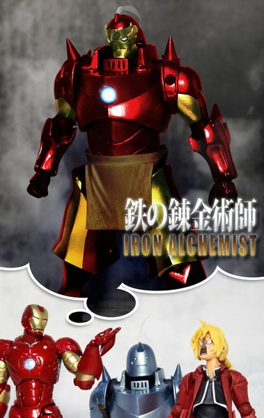 best of week,crossover,Fan Art,fullmetal alchemist,iron man