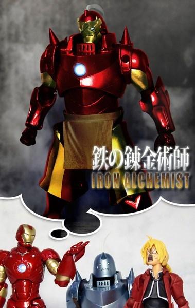 best of week crossover Fan Art fullmetal alchemist iron man - 6430065152