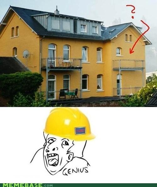 architecture doors genius Memes porch - 6430098688