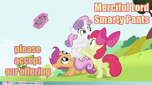 cutie mark crusaders merciful smarty pants the internets - 6430220800