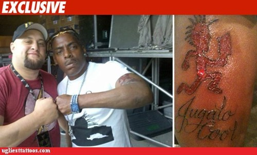 arm tattoo,coolio,juggalo