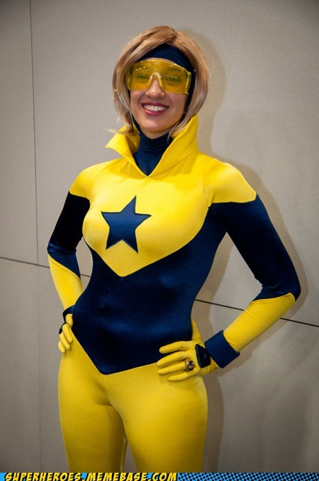 booster gold,rule 63,sdcc 2012,Super Costume