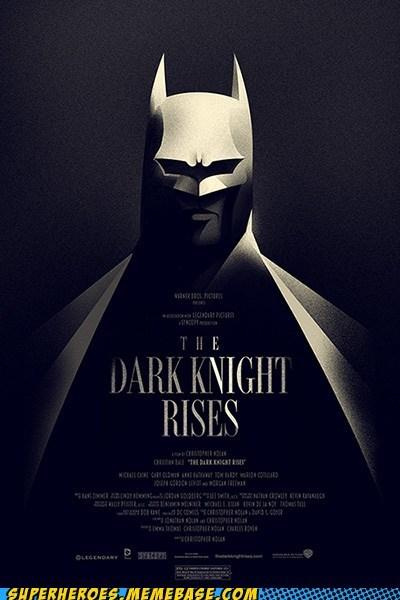 Awesome Art batman Dark Knight Rises Movie poster - 6430767104