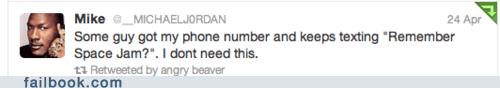 michael jordan space jam tweet twitter - 6430770688